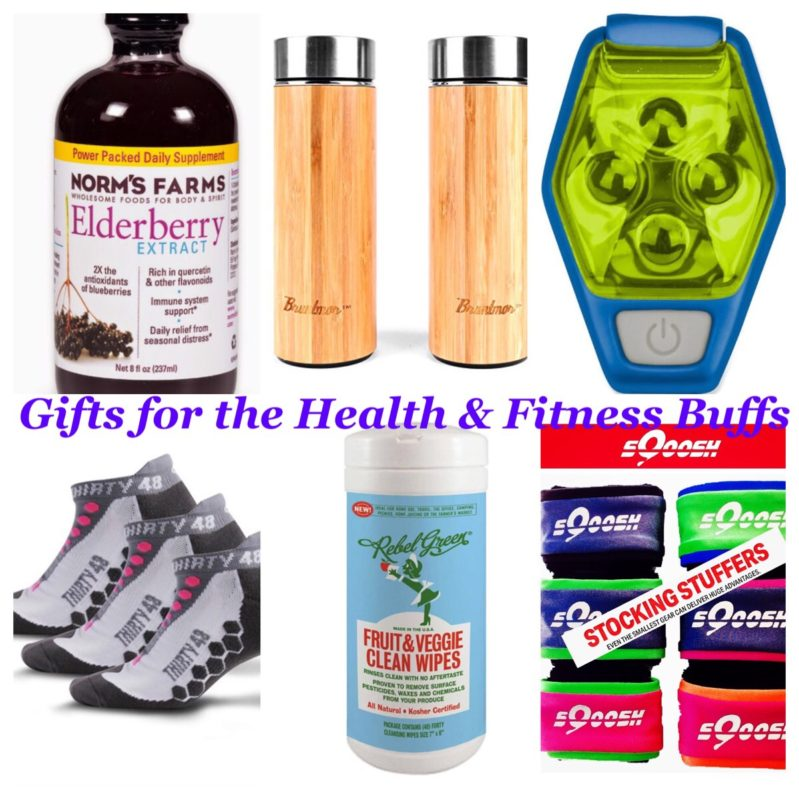 Gift guide for the health nut and fitness buffs