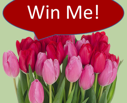win these valentines flowers, giveaway