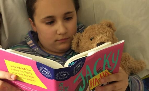 jacky ha-ha book club #hahabookclub