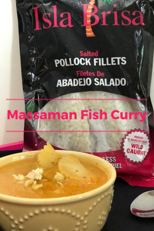 Massaman Fish Curry