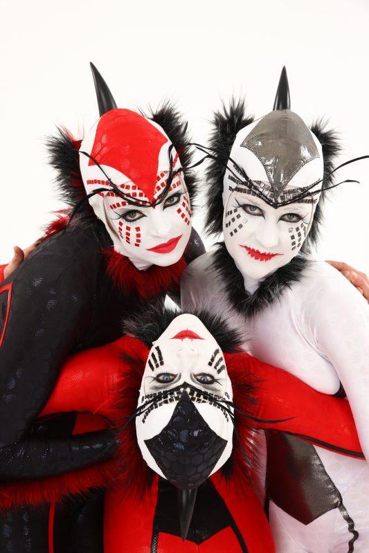 Spider costumes from Cirque Du Soleil OVO