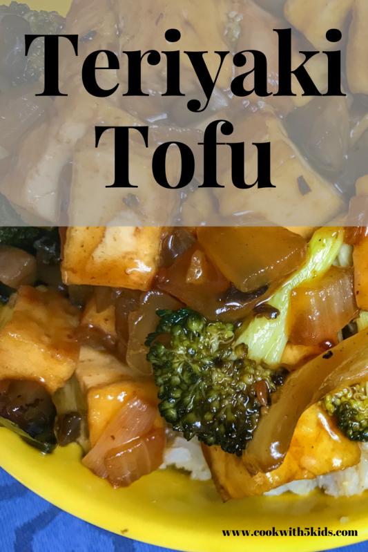 Teriyaki Tofu with Seeds of Change simmer sauce from www.cookwith5kids.comTeriyaki Tofu with Seeds of Change simmer sauce from www.cookwith5kids.com