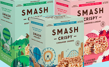 SmashCrispy healthier Rice Krispy treat