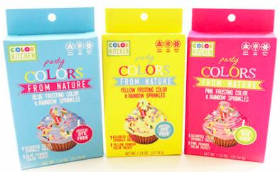 Color Kitchens Safe sprinkles for baking