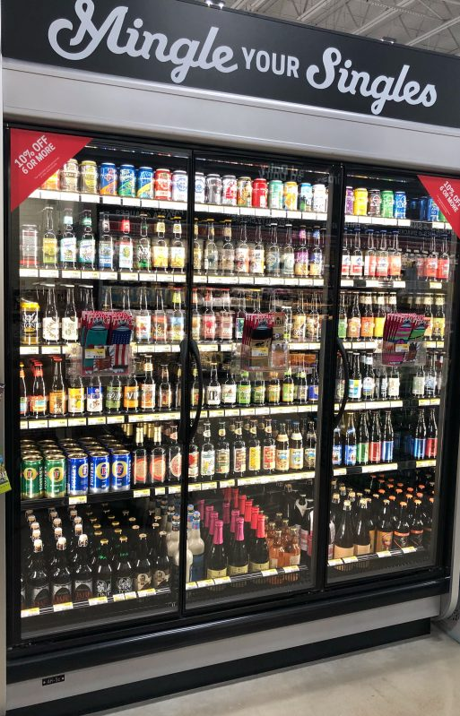 Healthy Beer options, make your own 6 pack at Earth Fare Fairfax