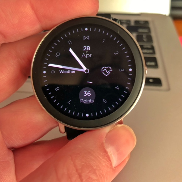 Misfit Vapor Smartwatch makes a perfect Mother's Day Gift
