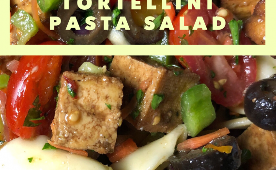 Pasta Salad Recipes- Tofu Recipes - Tortellini Pasta Salad Via Sara LaFountain, Blogger cookwith5kids.com @cookwith5kids Healthy food recipes and family meal ideas #recipes #pastasalad