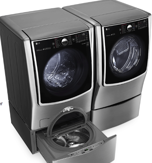 LG washer and dryer at Best Buy