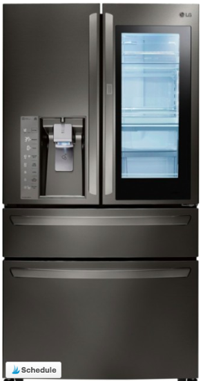 LG Instaview Door in Door Refrigerator at Best Buy