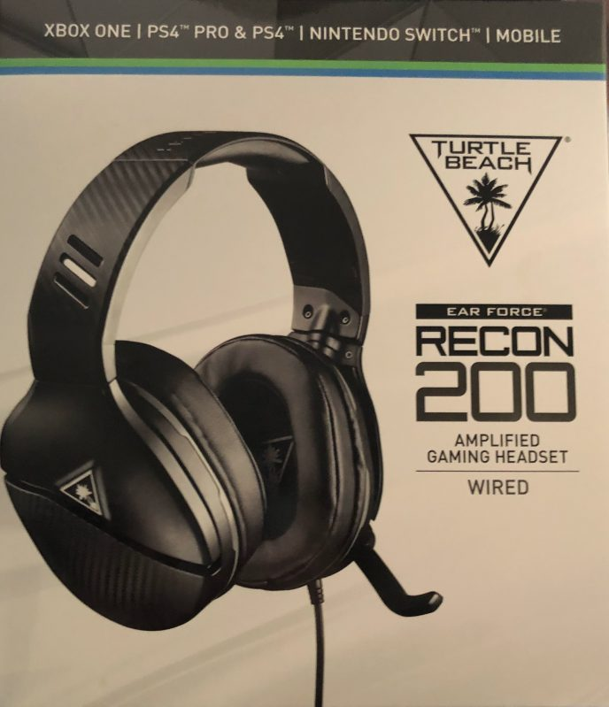 turtle beach recon 200 best gaming headset for kids and adults