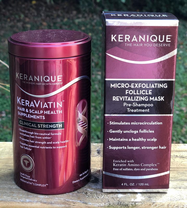 Keranique hair and scalp thinning hair treatments