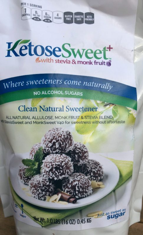 steviva ketosweet ,alluose low calorie, low glycemic sweetener. sugar free lava cake, made with steviva, ketosweet