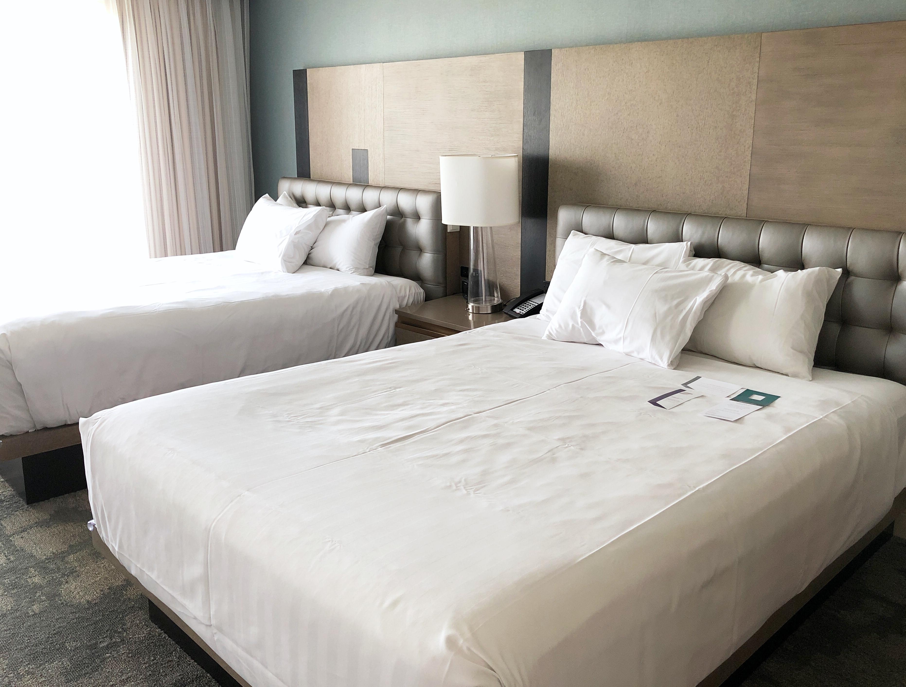 hyatt chesapeake double queen bed