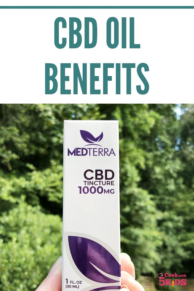Benefits of CBD oil with Medterra CBD