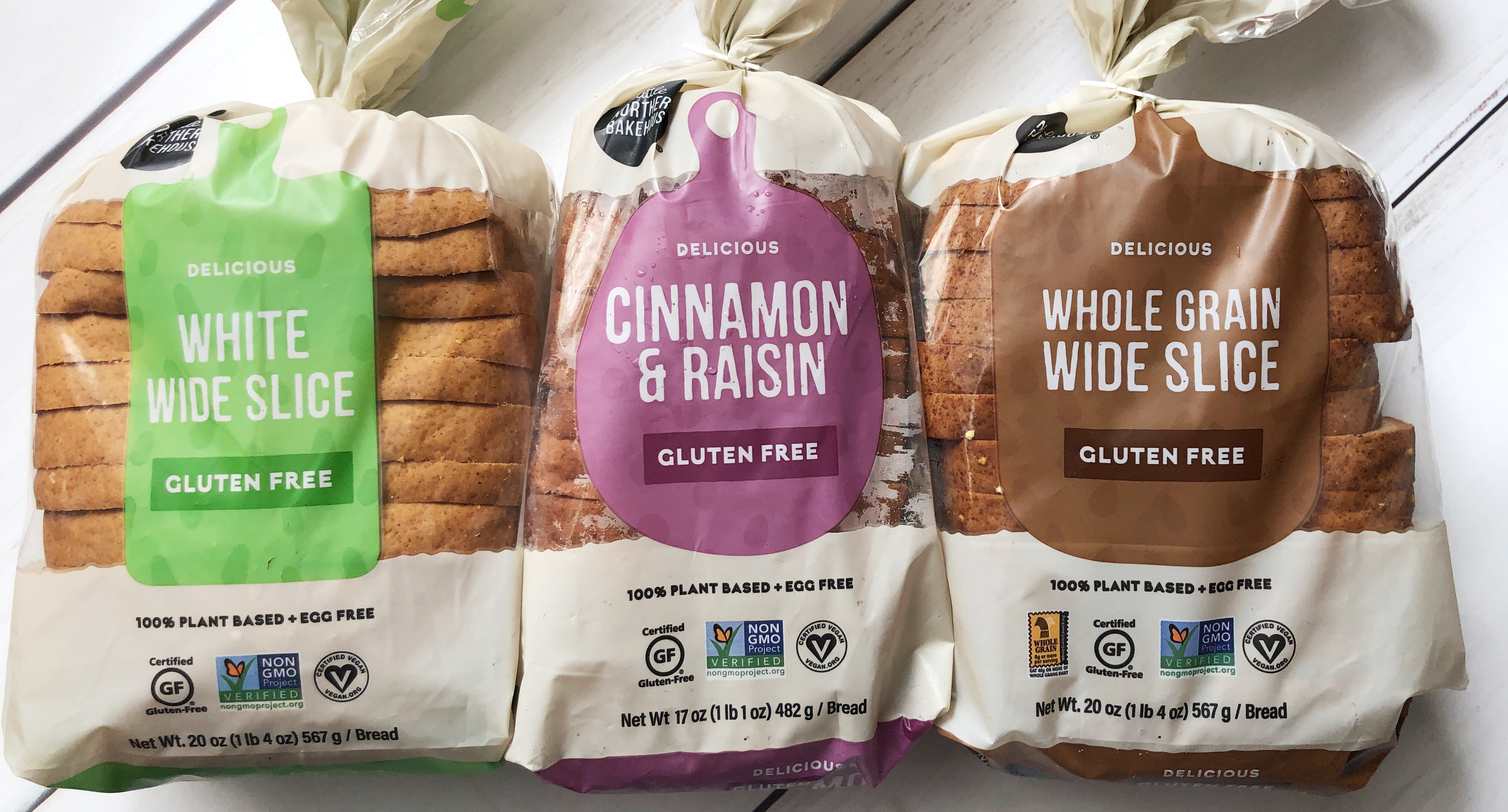 gluten free bread options from Little Northern Bakehouse