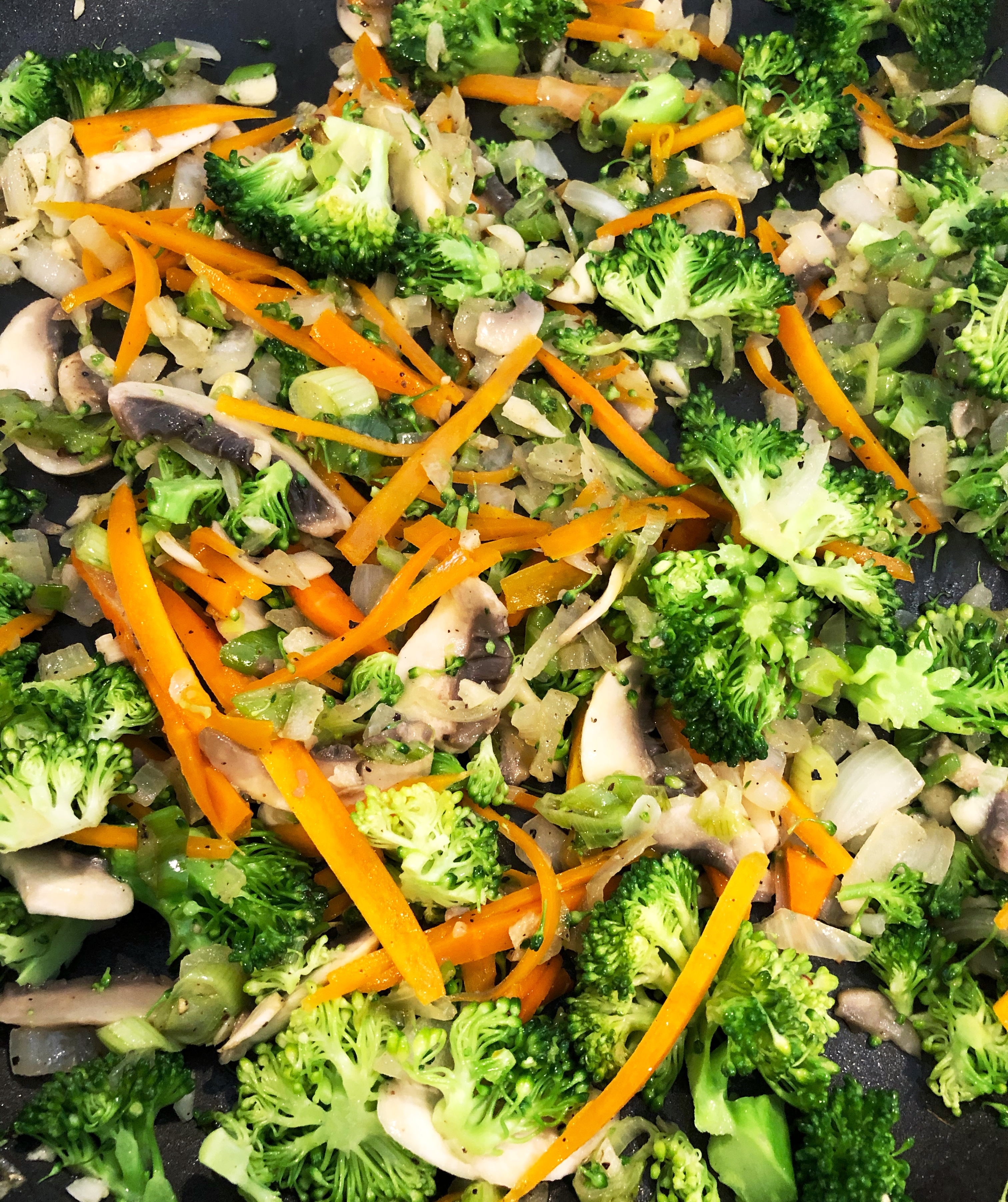sauteed vegetables for stir fry