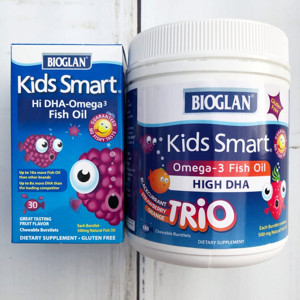kids smart omega 3s fish oil burstlets