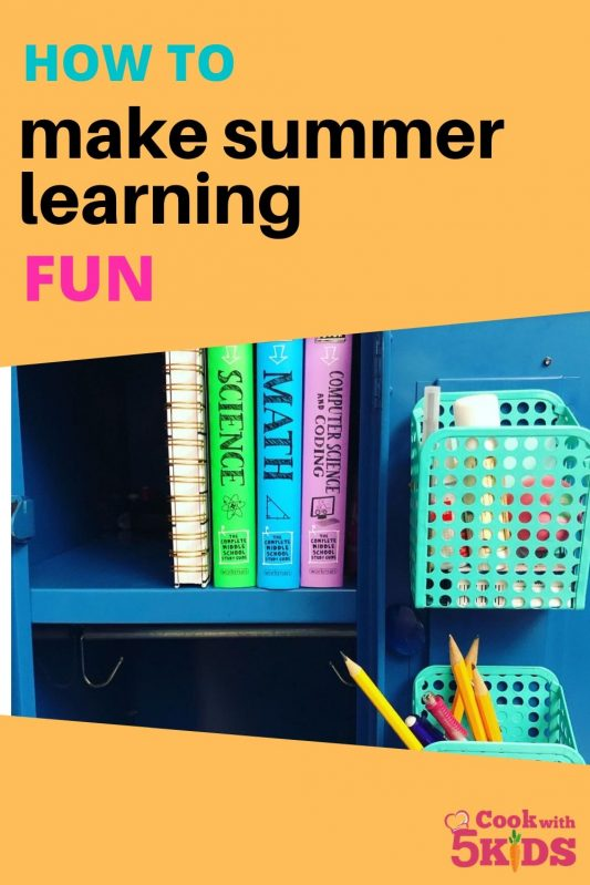 fun summer learning activity books