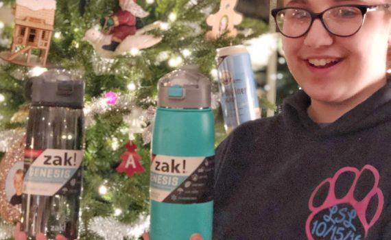 zak genesis water bottles make great christmas gifts