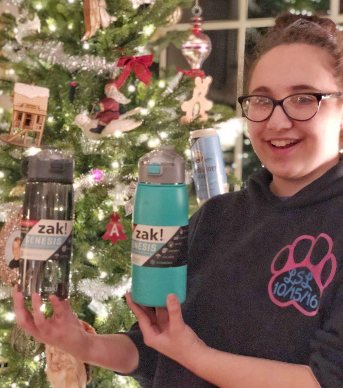 zak genesis water bottles make great christmas gifts