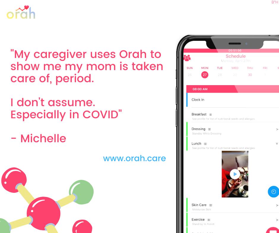 testimonial for orah app