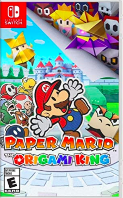 case of paper mario the origami king