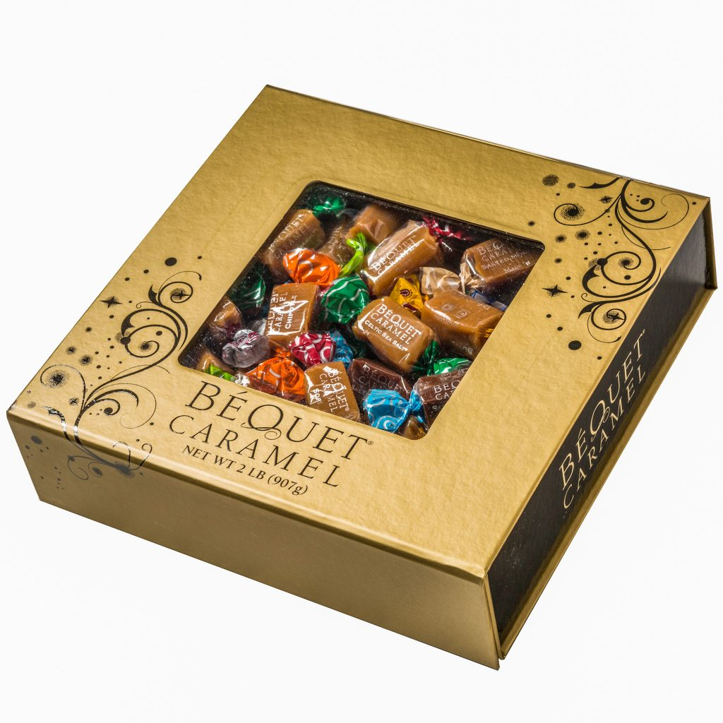 2-lb Deluxe Box of bequet confections caramels