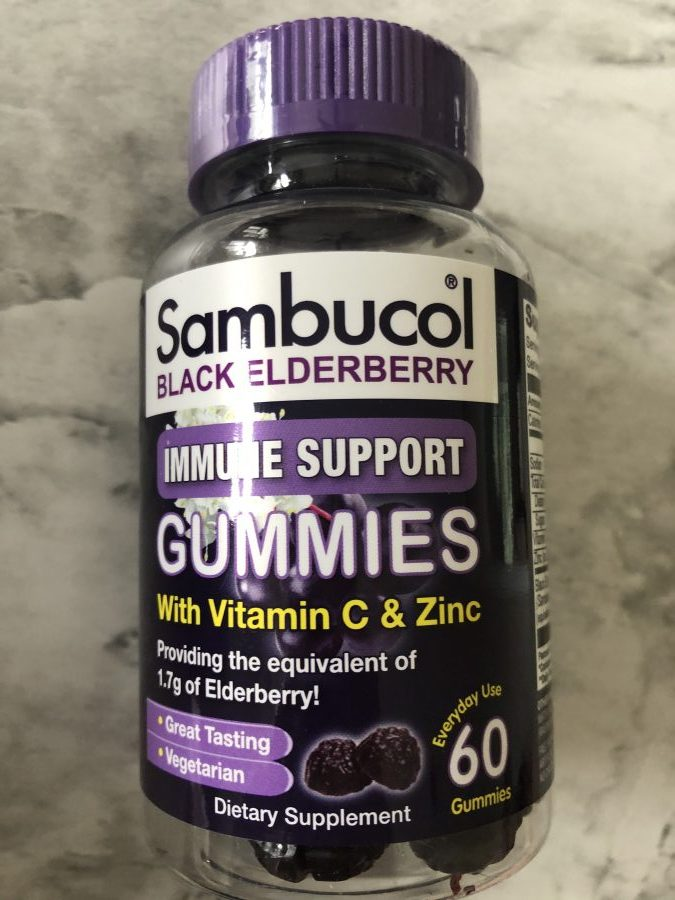 sambucol elderberry supplements