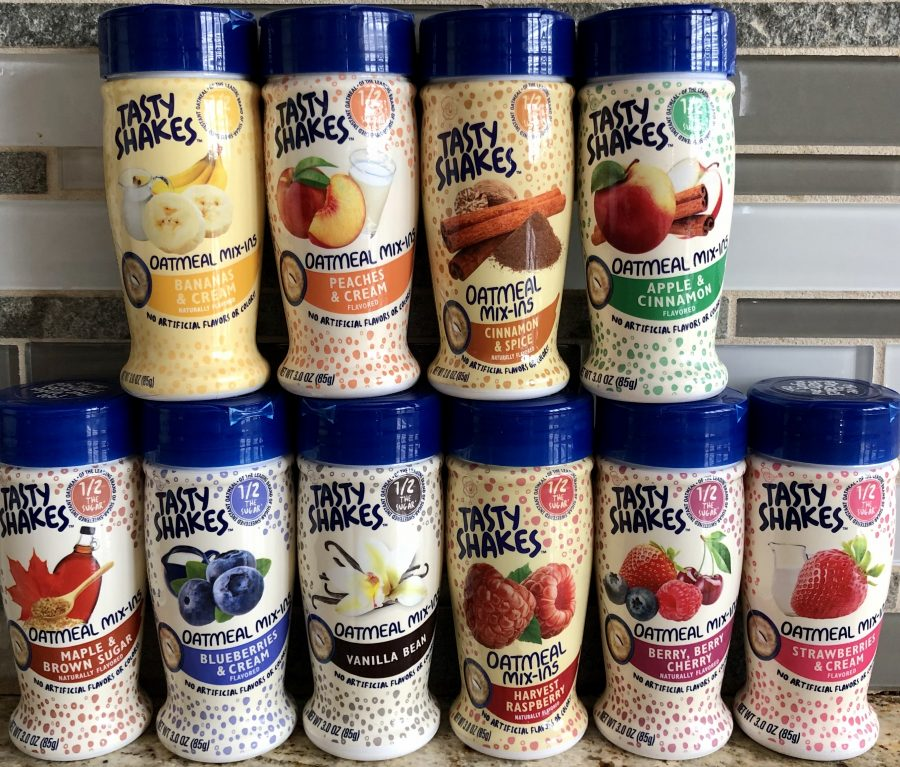 all 10 tasty shake oatmeal mix in flavors