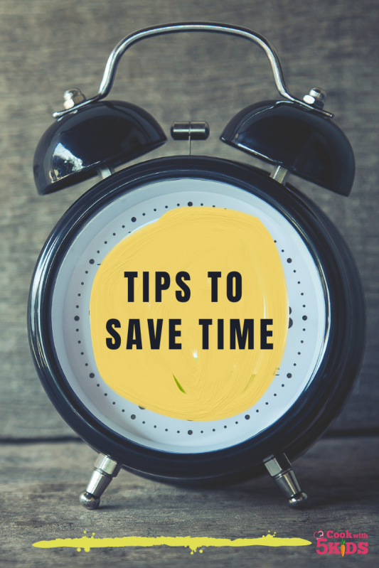 tips to save time alarm clock
