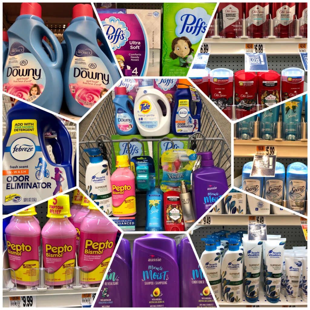 P&G products for Giant Homegating promotion