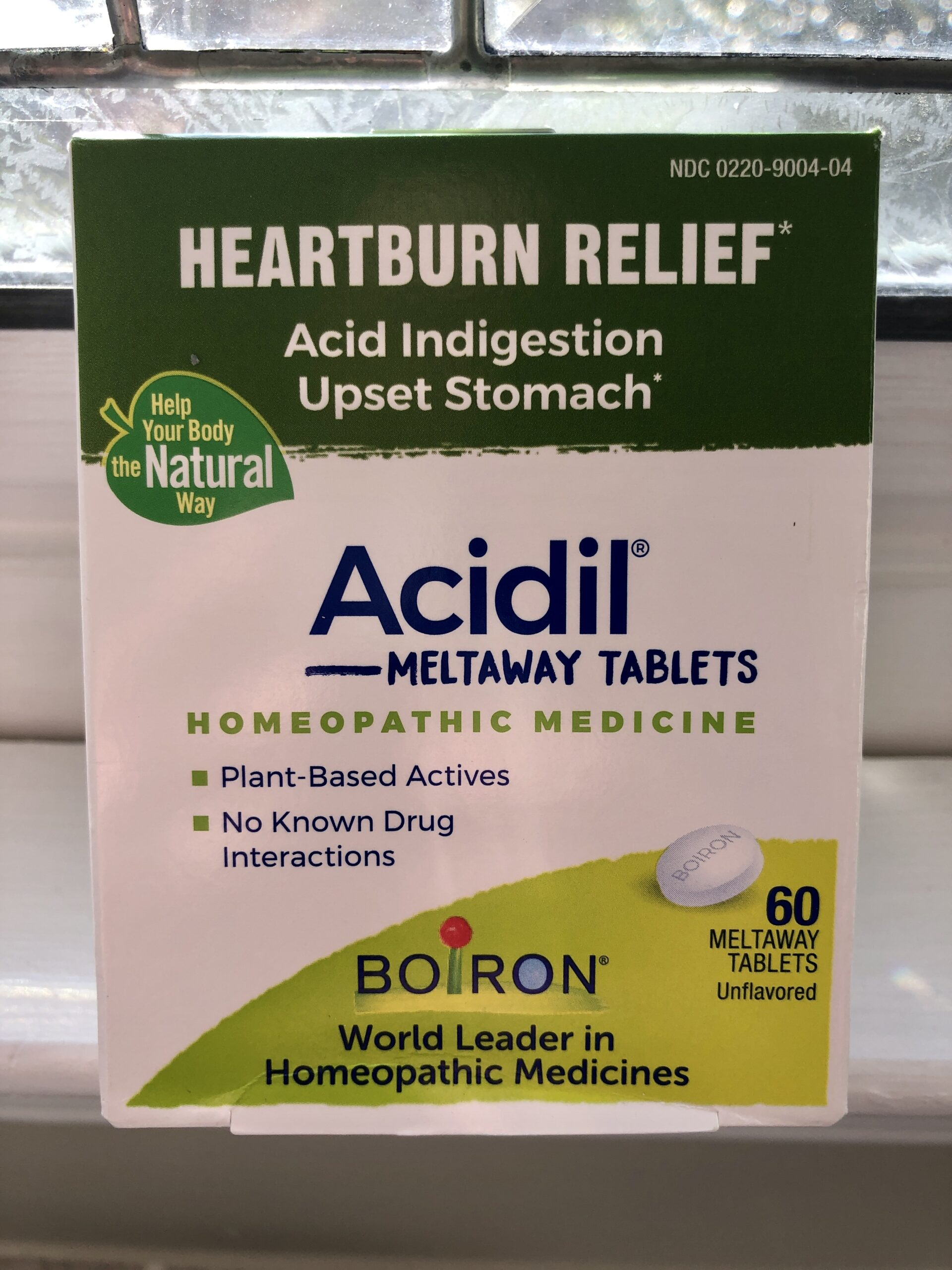 Acidil homeopathic heartburn relief