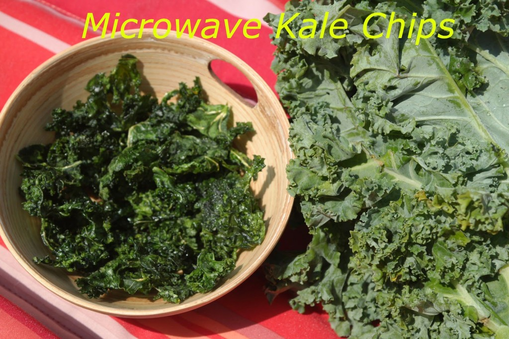 Kale Chips In The Microwave