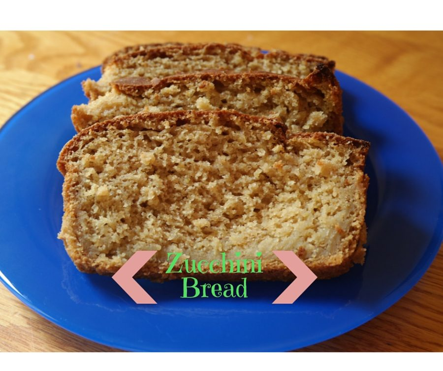 Zucchini Bread: Vegan, low fat, low in sugar & delicious