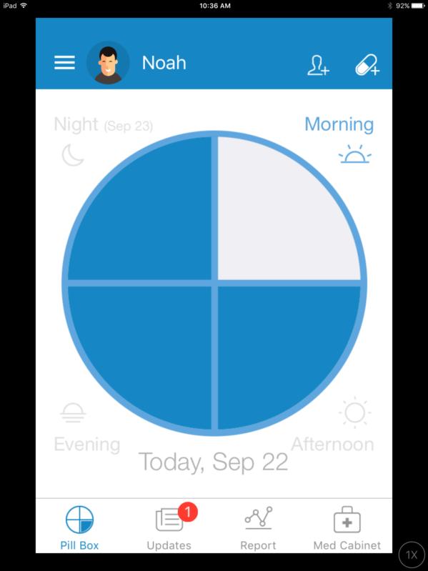 medisafe app keeps track of your medications