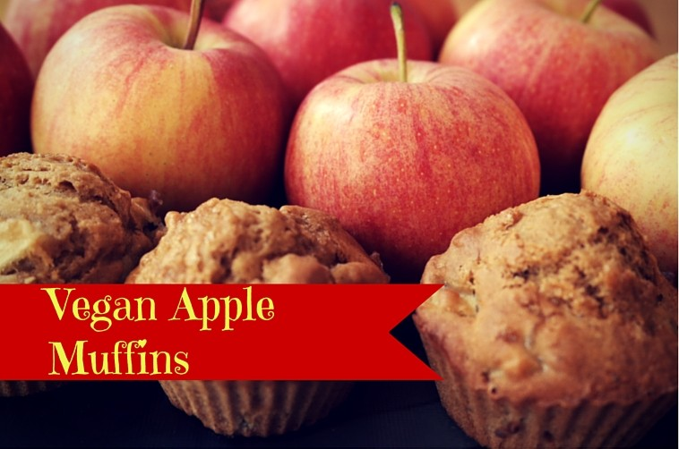 Vegan Apple Muffins for a happy new year