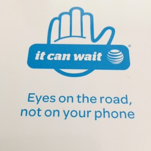 AT&T It Can Wait Don't text and Drive Campain VR Google Cardboard