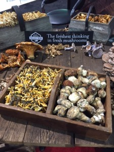 mushroom display at PMA fresh summit