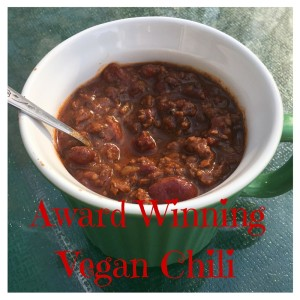 award winning vegan chili