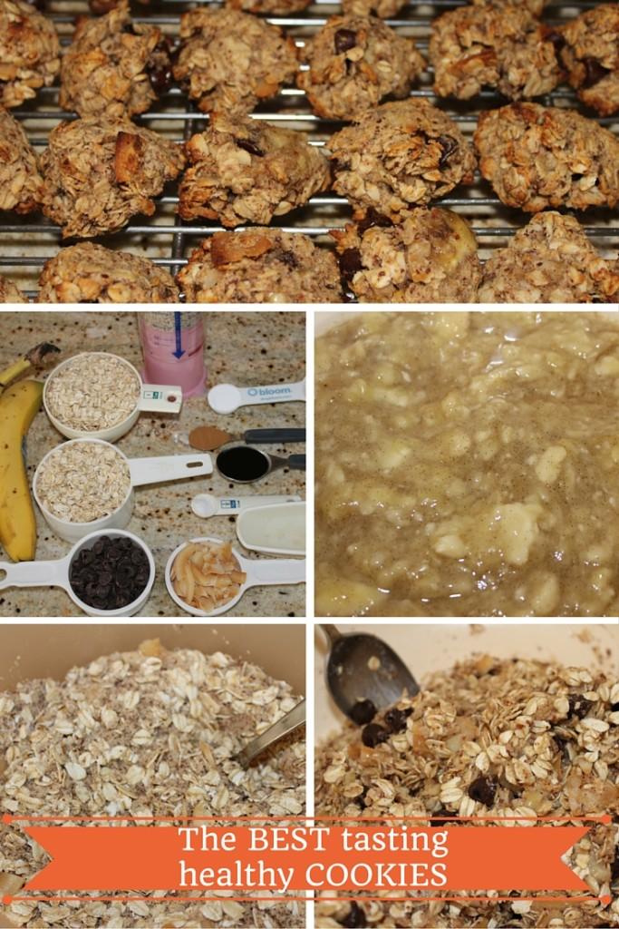 the BEST tasting healthy cookies recipe