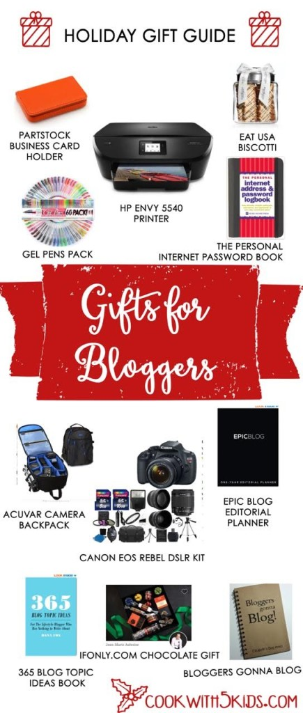 blogger gifts