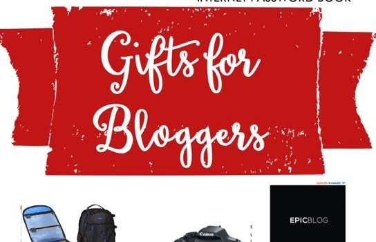 gifts for your favorite blogger