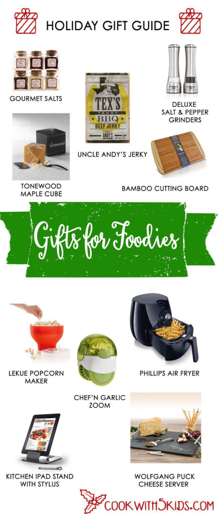 2015 Gift Guide Foodies