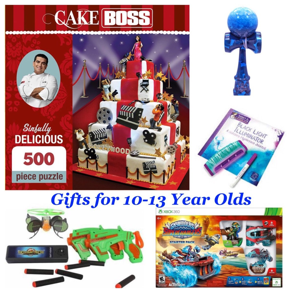 Gift guide for ages 10-13 2015
