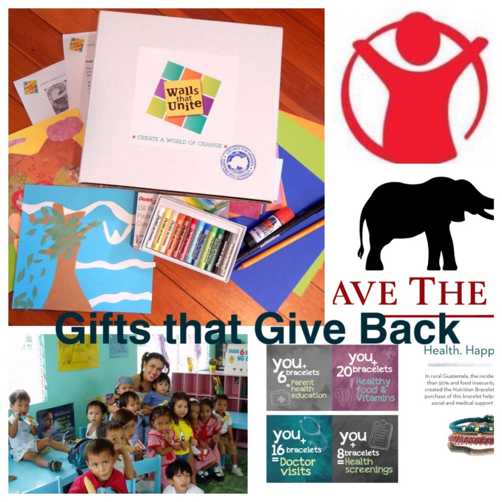 Gifts that Give Back #Giftguide 2015