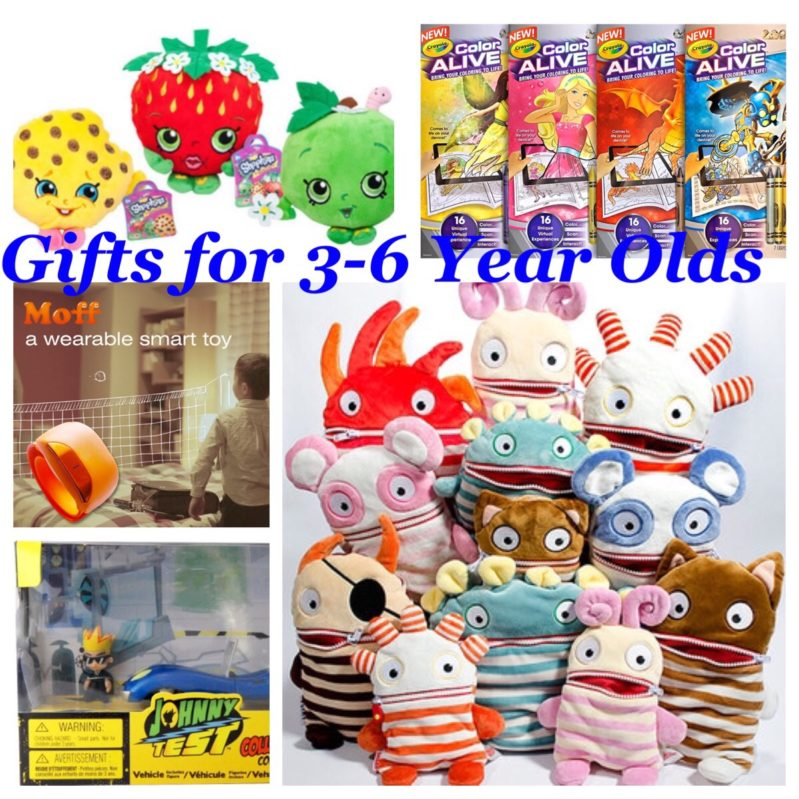 #giftguide for kids ages 3-6 years old