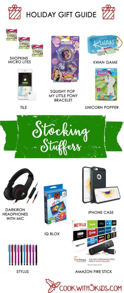 stocking stuffers gift guide for 2015
