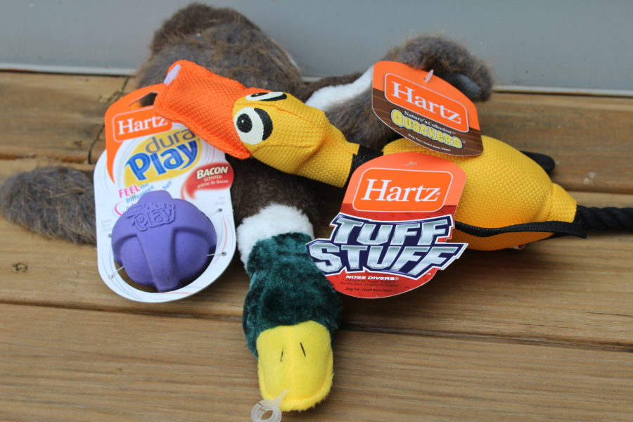 hartz dog toys, tuff stuff