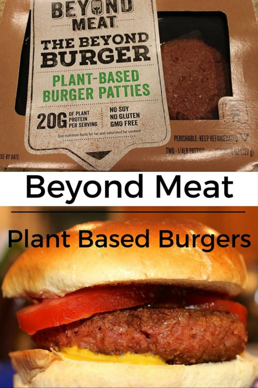 Beyond Meat plant based burger review on www.cookwith5kids.com