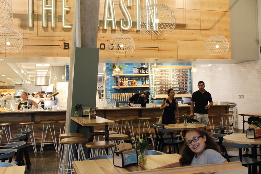 The Basin bar room at the new Whole Foods at Pentagon City